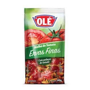 Molho de Tomate Ervas Finas Olé Sachê 340G