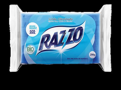 Sabão em Pedra Razzo Glicerina Azul Anil 200g