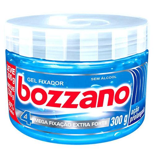Gel Fixador Bozzano 300g Fixação 4 Mega Extra Forte Ação
