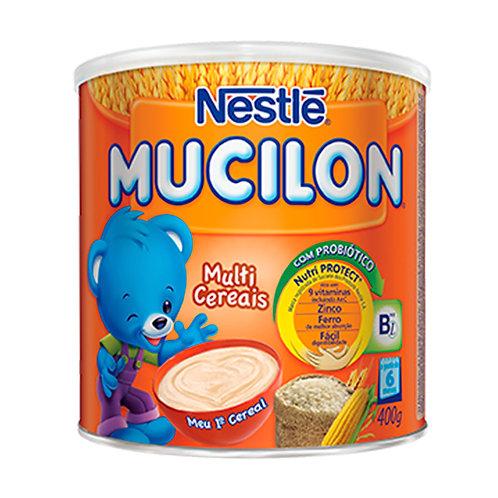 Cereal Infantil Nestlé Mucilon Multicereais Lata 400g