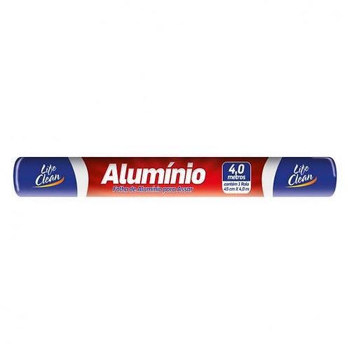 Papel AlumÍnio Life Clean 4.0mx45cm 4 Metros