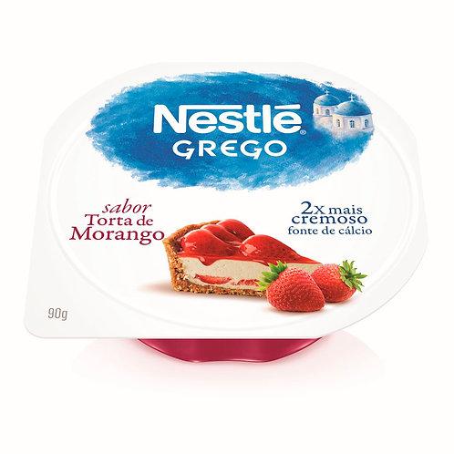 Iogurte Grego Nestlé 90g Torta Morango