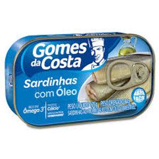Sardinha em Óleo Gomes da Costa 125g