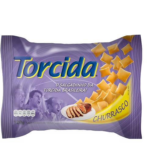 salgadinho torcida lucky sabor churrasco 80g