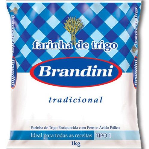 Farinha de Trigo Brandini 1kg