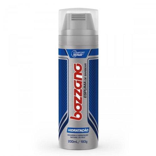 Espuma de Barbear Bozzano Hidratação  196ml