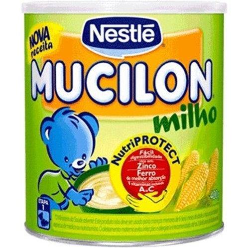 Cereal Infantil Nestlé Mucilon Milho Lata 400g