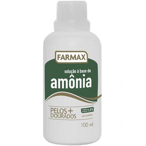 Amônia Farmax Solução 100mL
