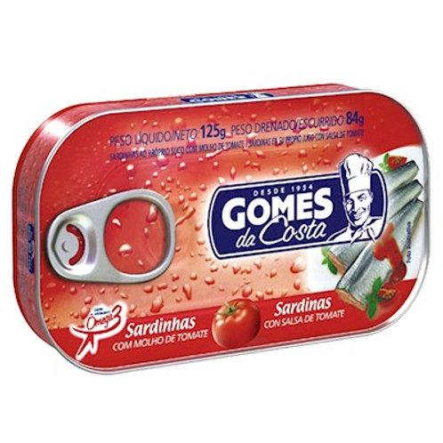 Sardinha Gomes da Costa Tomate 125g