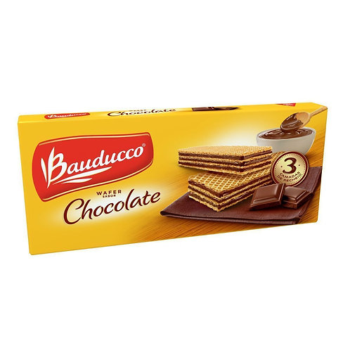 Biscoito Wafer Bauducco Chocolate 78G