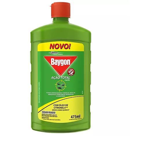 Inseticida Baygon Eucalipto Ação Total 475ml