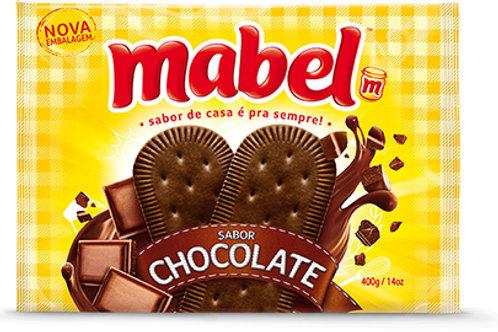 Biscoito Laminado Mabel Chocolate 400g