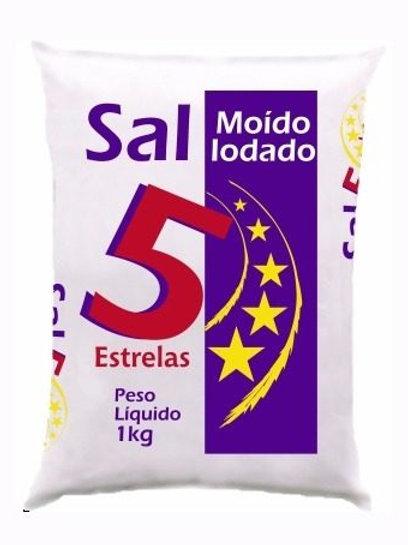 Sal 5 Estrela 1kg