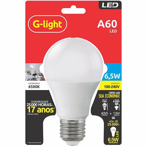 lâmpada LED A55 G-light 6.5w