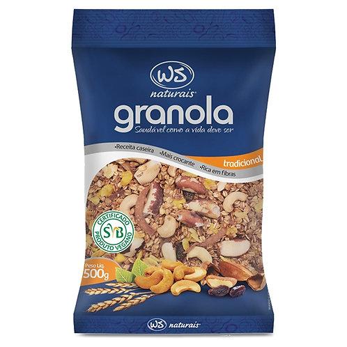 Granola Tradicional 500g WS Naturais