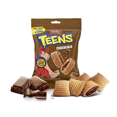 Biscoito Marilan Teens Recheado de Chocolate 80g