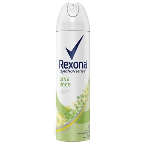 Desodorante Rexona Aerosol erva Doce 150ML