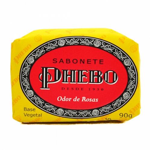 Sabonete Phebo 90g Odor De Rosas