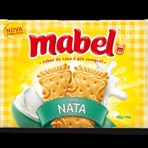 Biscoito Laminado Mabel Nata 400g