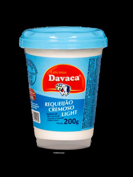 Requeijão Cremoso DAVACA LIGHT 200G