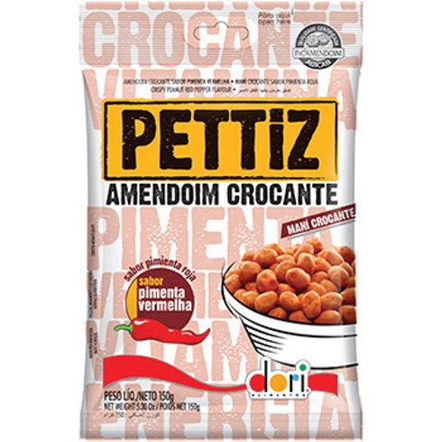 Amendoim Crocante Pettiz Pimenta Vermelha 150gr
