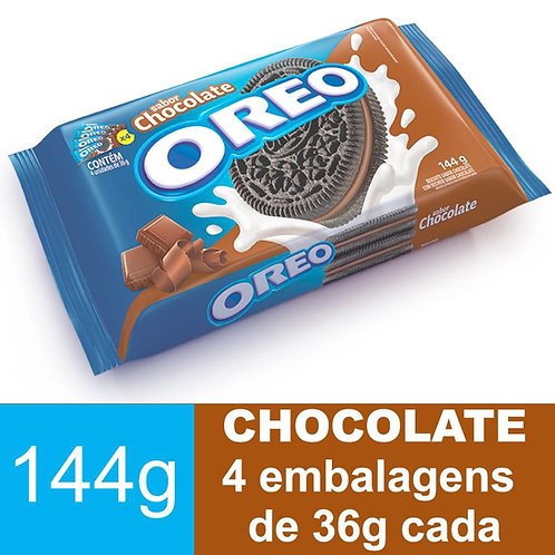 Biscoito Oreo Chocolate 144g