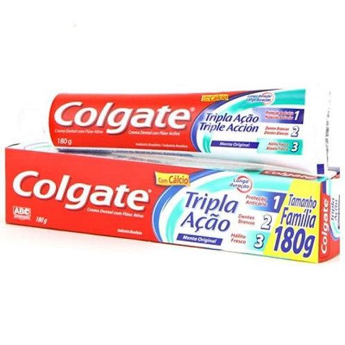 Creme Dental Colgate Tripla Ação Menta Original 180 Gr
