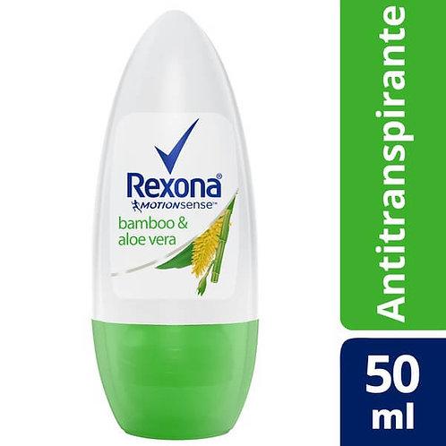 Desodorante Rexona Roll On Feminino Bamboo 50ML