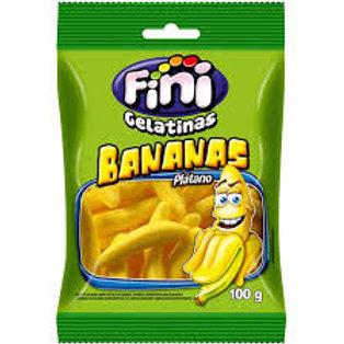 Gelatinas Fini Bananas 100gr