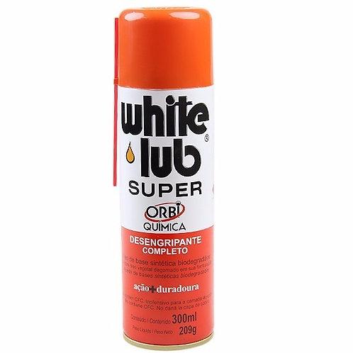 Spray White Lub Super Desengripante E Protetivo Orbi Química 300ml