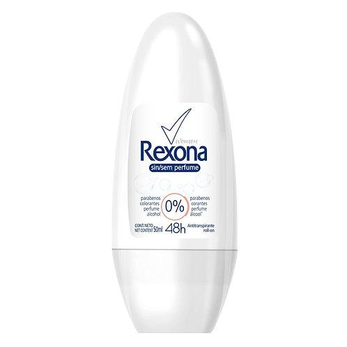 Desodorante Roll On Rexona Sem Perfume 50ml