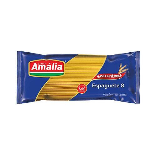 Macarrão Sêmola Santa Amália Espaguete Nº8 500g