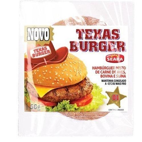 Carne Hambúrguer  SEARA Texas Burger  56g