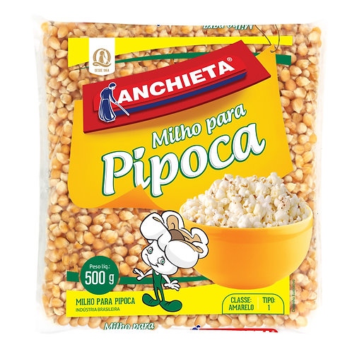 Milho Pipoca Anchieta 500g