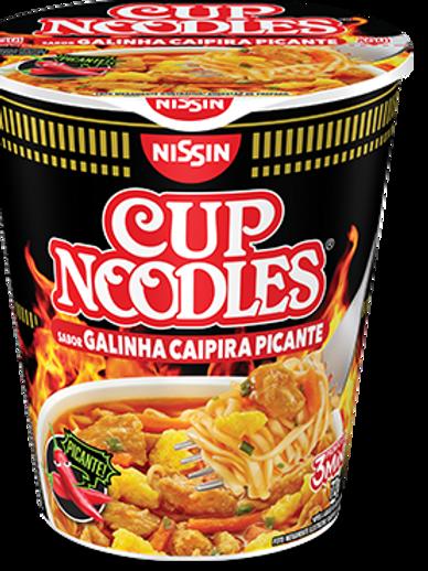Macarrão Instantâneo Cup Noodles de Galinha Caipira picante 64g