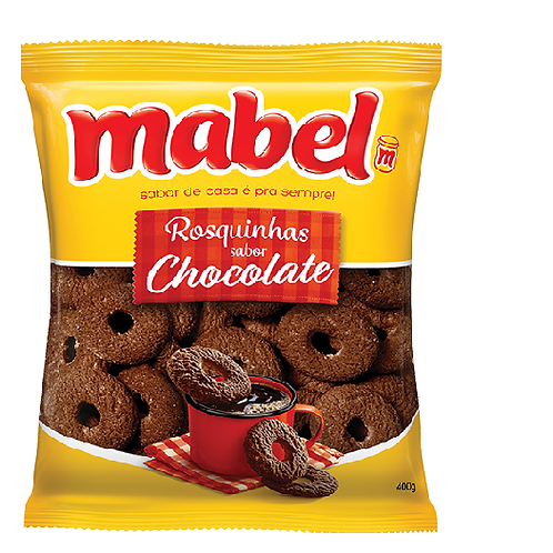 Biscoito Mabel Rosquinha Chocolate 350g