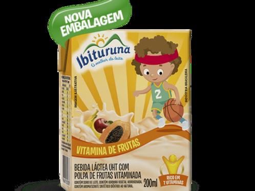 Bebida Láctea Ibituruna vitaminas de frutas 200ml