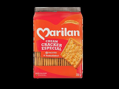 Biscoito Cream Cracker Marilan Pacote 350g