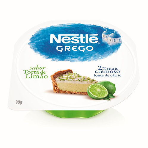 Iogurte Grego Nestlé 90g Torta Limão