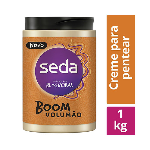 Ikesaki Creme para Pentear Seda Boom Volumão 1000g