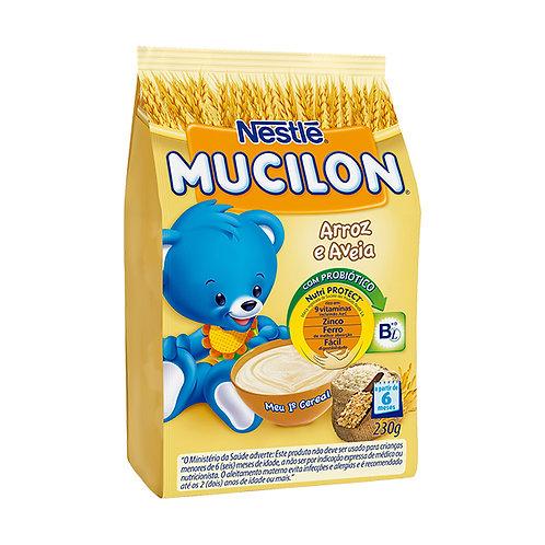 Mucilon Arroz E Aveia Cereal Infantil Sachê Com 2300g