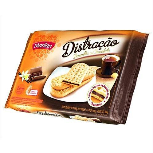 Biscoito MARILAN Distração Baunilha e Chocolate 360g