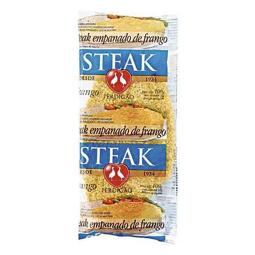 Steak de Frango Empanado Perdigão 100g