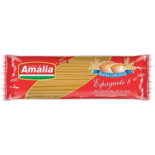 Macarrão Espaguete 8 SANTA AMÁLIA