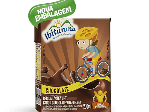 Bebida Láctea Ibituruna Chocolate 200ml