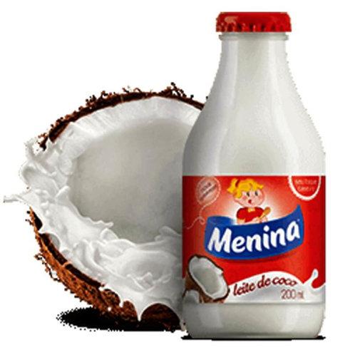 Leite Coco Menina Vidro 200ml