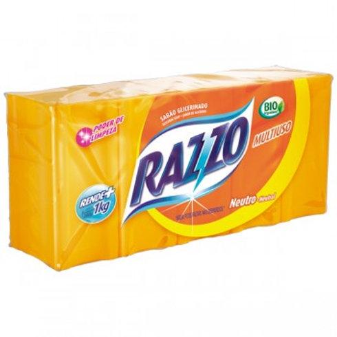 Sabão em Barra Razzo Neutro Embalagem 1Kg