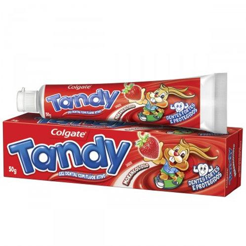 Gel Dental Infantil Tandy Sabor Morango 50G