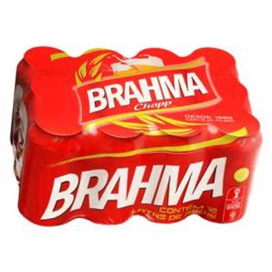 Cerveja Brahma Lata 350 ml 12 Unidade