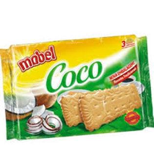 Biscoito Laminado Mabel Coco 400g